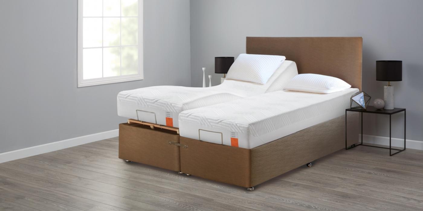 Tempur Ardennes Adjustable Bed Adjustable Bed Dublin Waterford Sienna