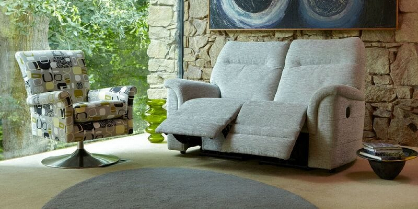 Parker Knoll Hudson Power Assisted Recliners Waterford