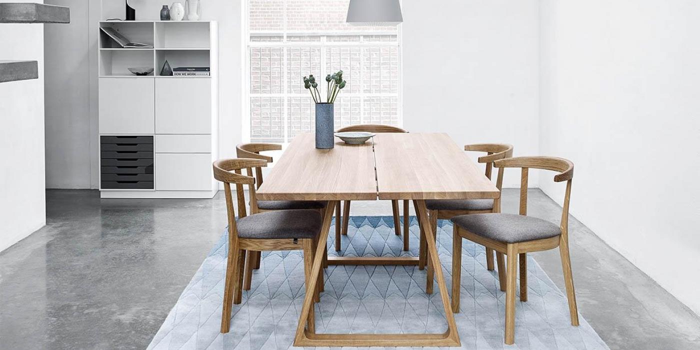 Skovby Sm105 Plank Table Dining Table Sienna Dublin