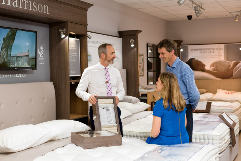 Ireland's largest display of Harrison Beds